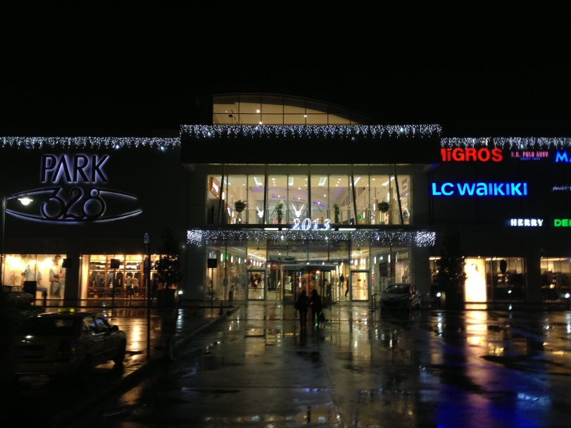 Our shopping mall, ready for the New Year