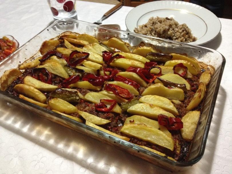 Fırında Et, prepared by Eda's aunt