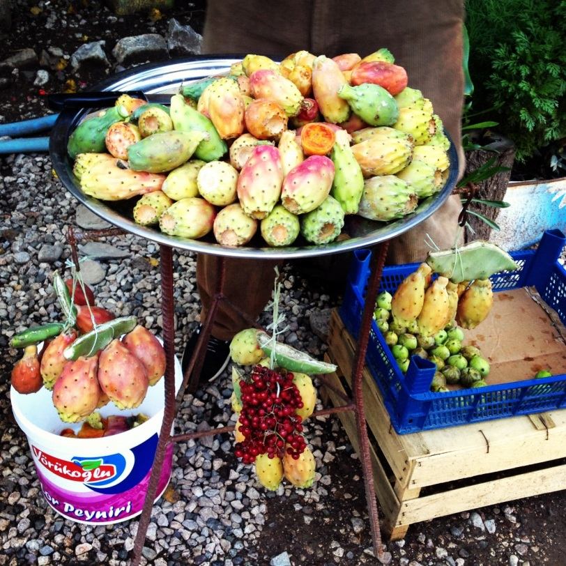 roadside fruit selection