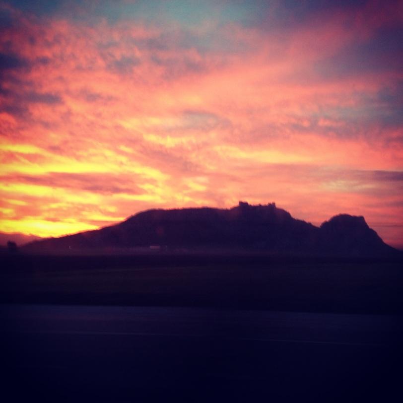 Sunrise in the Osmaniye Province