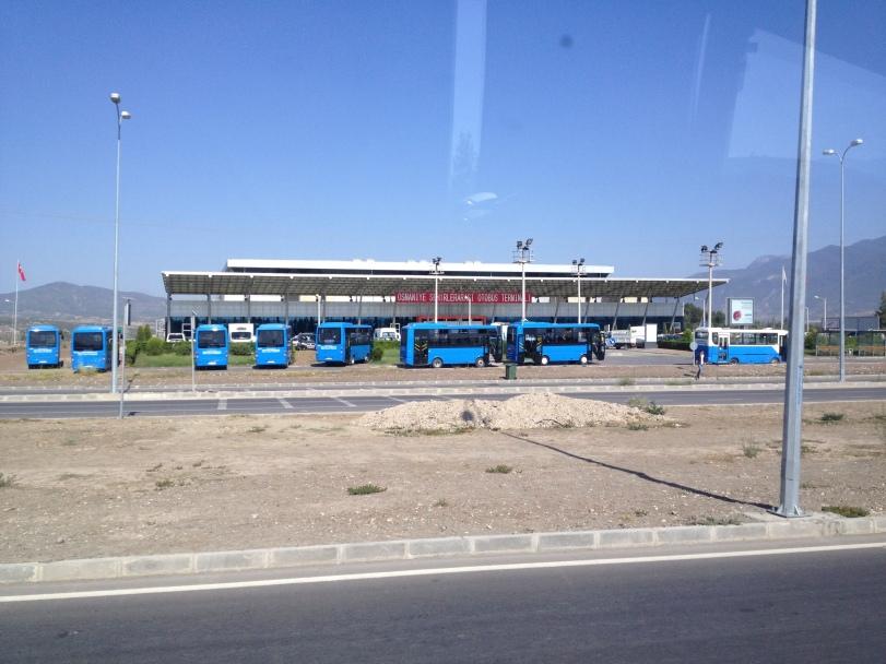 The new Osmaniye Otogar, and fancy new city buses