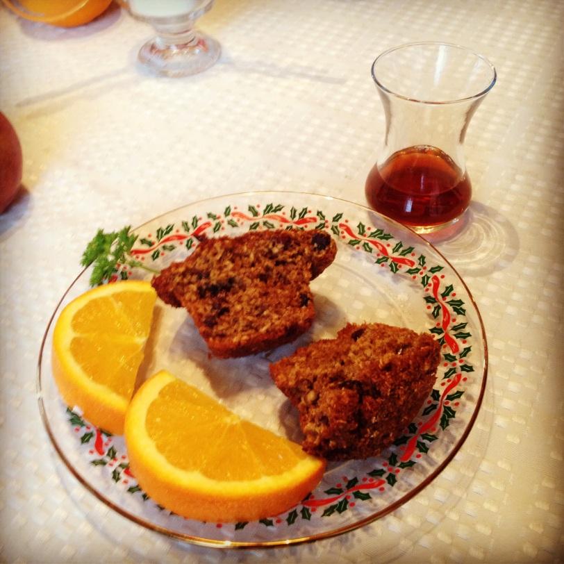 Turkish tea for breakfast