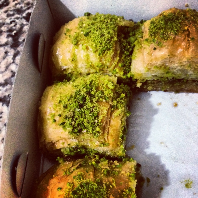 So. Much. Baklava.
