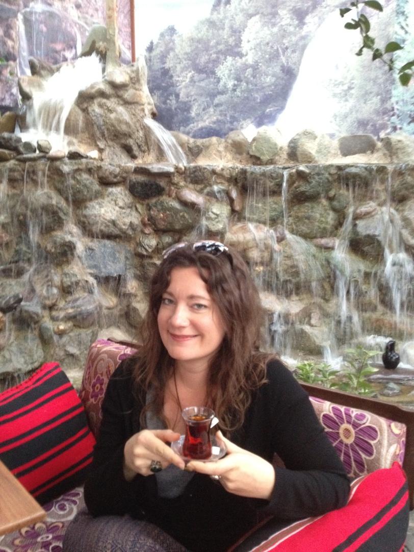 I love Turkish tea!