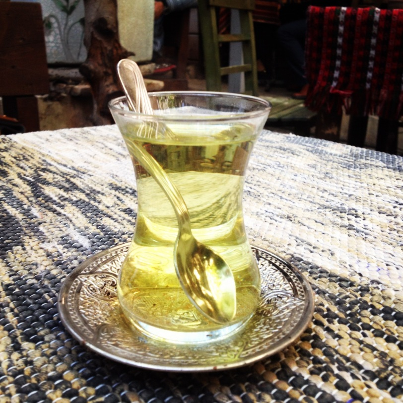 In some places, one can find herbal tea as well