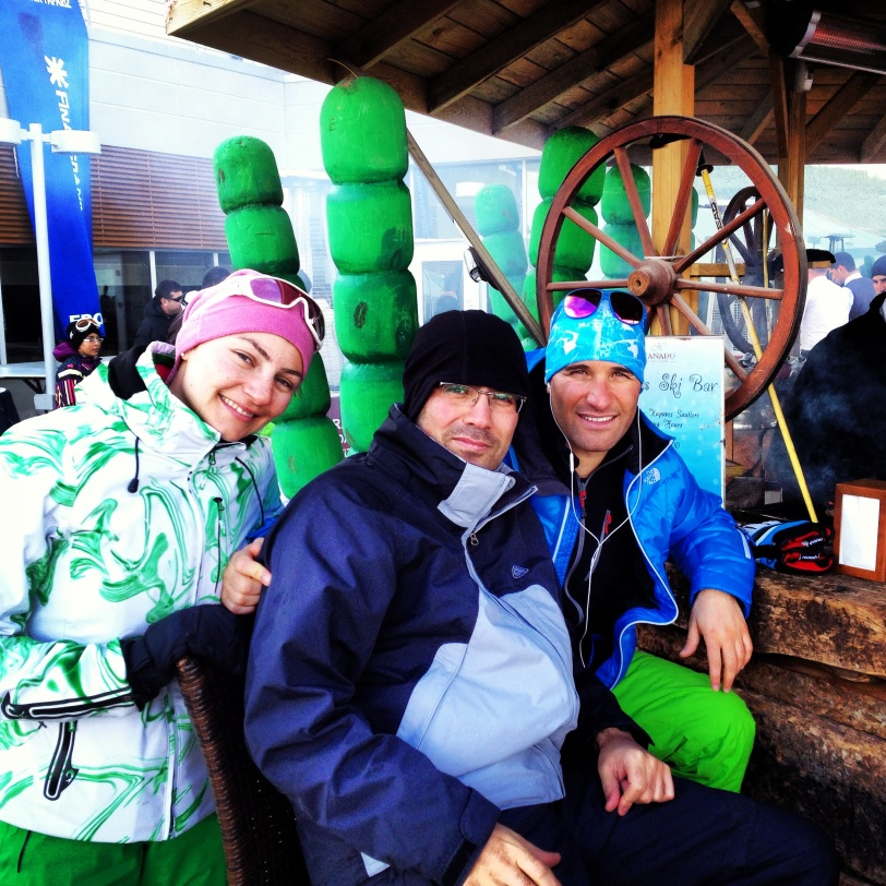Great ski instructors and new friends