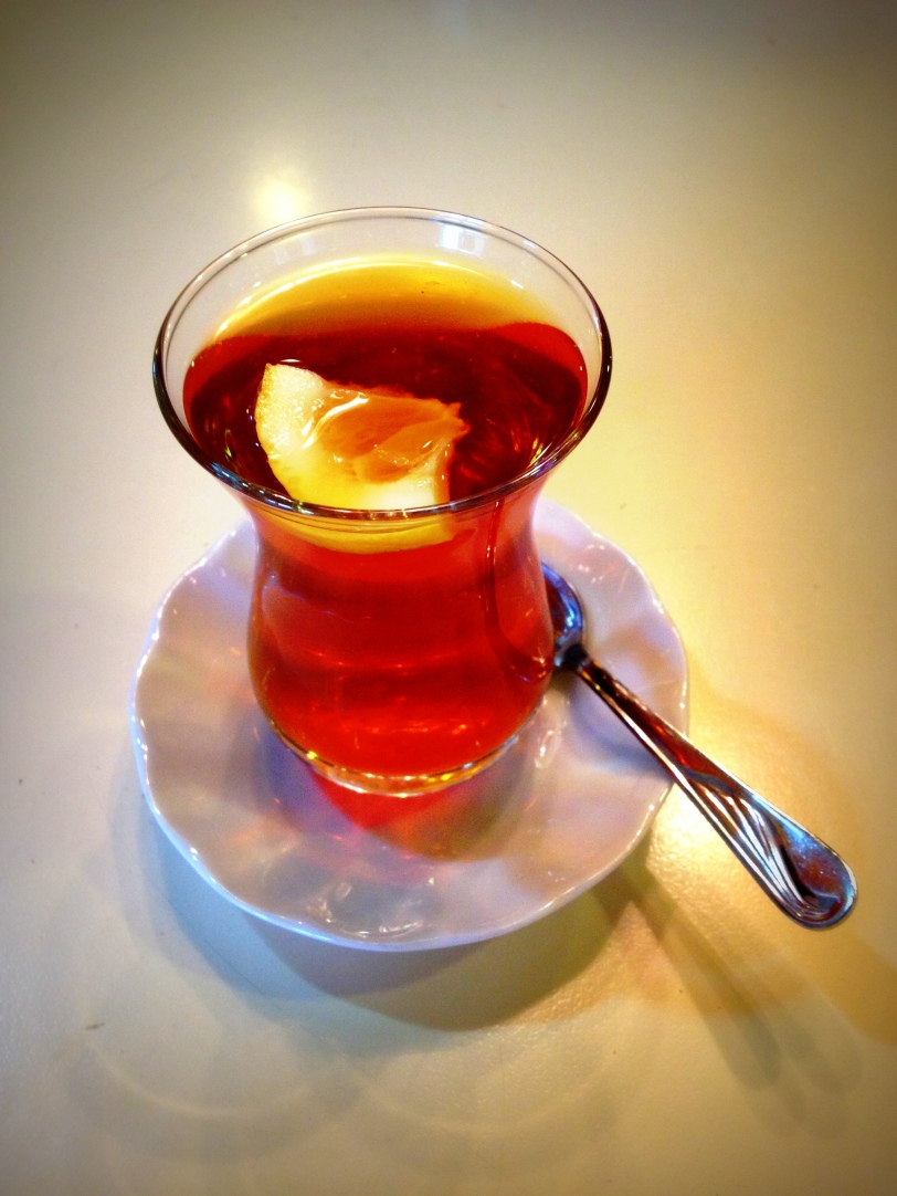 In Erzurum, you should take lemon in your tea