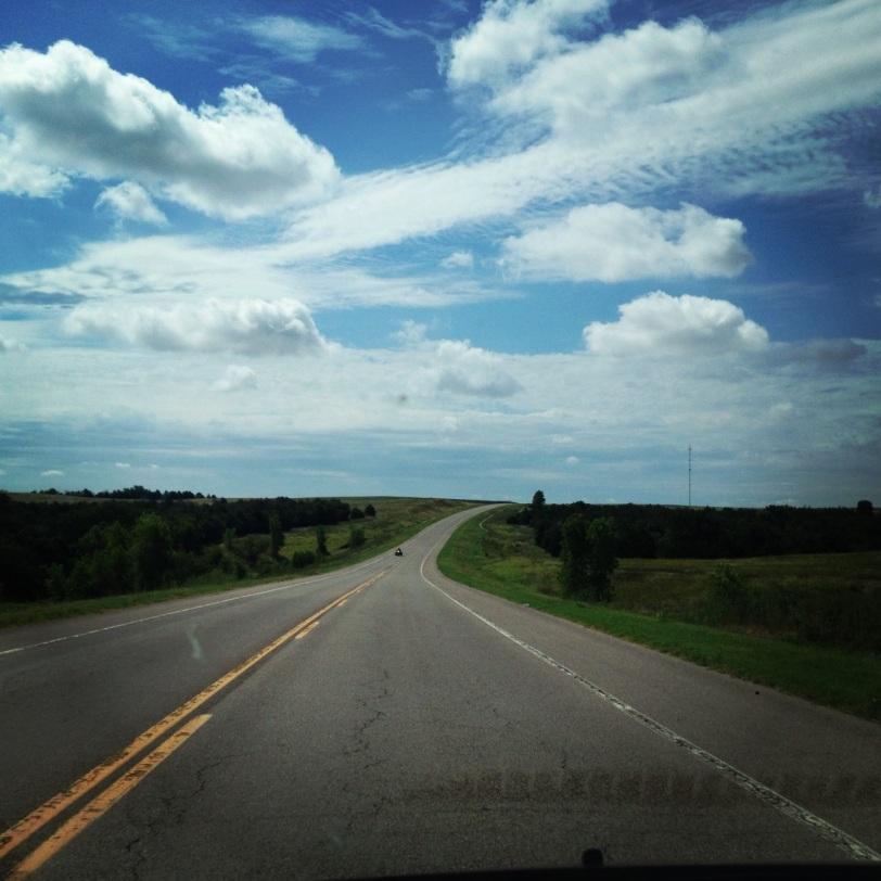 An Oklahoma highway