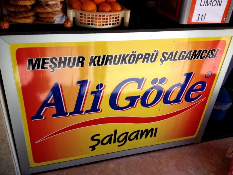 Another very famous Adana şalgamı