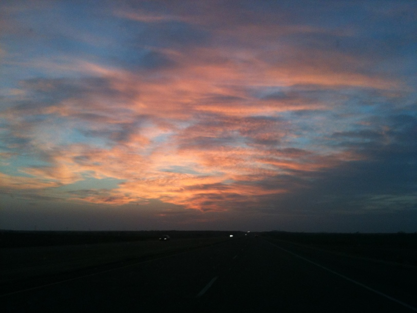 An Oklahoma sunset