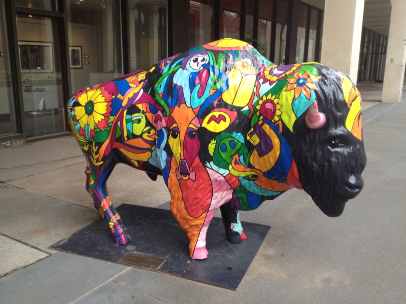 painted bison