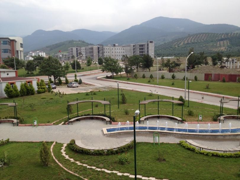 The OKÜ campus