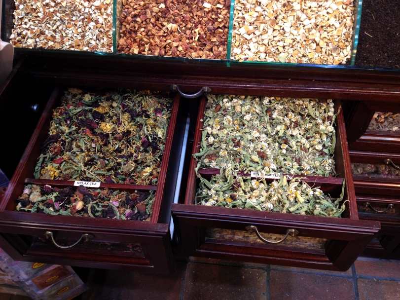 Exotic tea options
