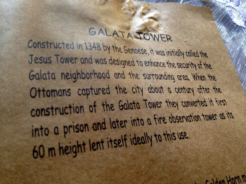 A bit about Galata Tower