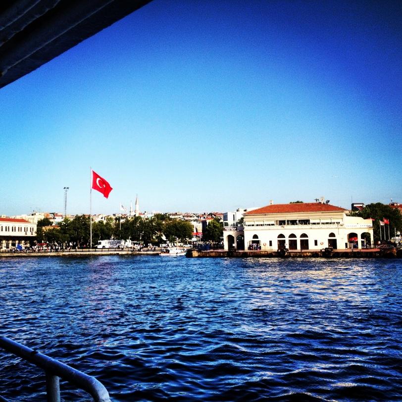 Approaching Kadiköy, Istanbul