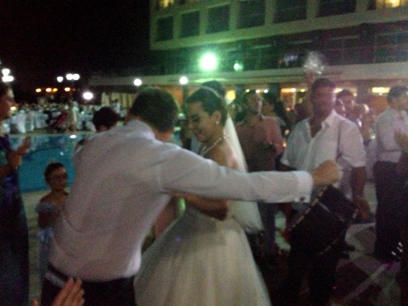 Lots of wedding dancing