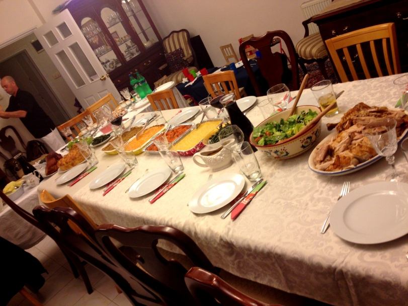 The holiday table in Adana