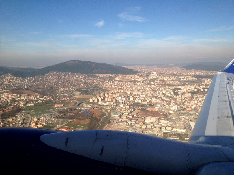 Leaving Istanbul with mild but cool temperatures