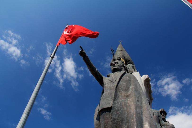 Atatürk statue in Iskenderun