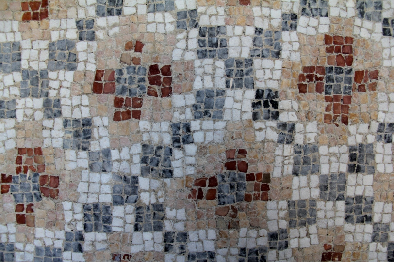 Mosaic up close