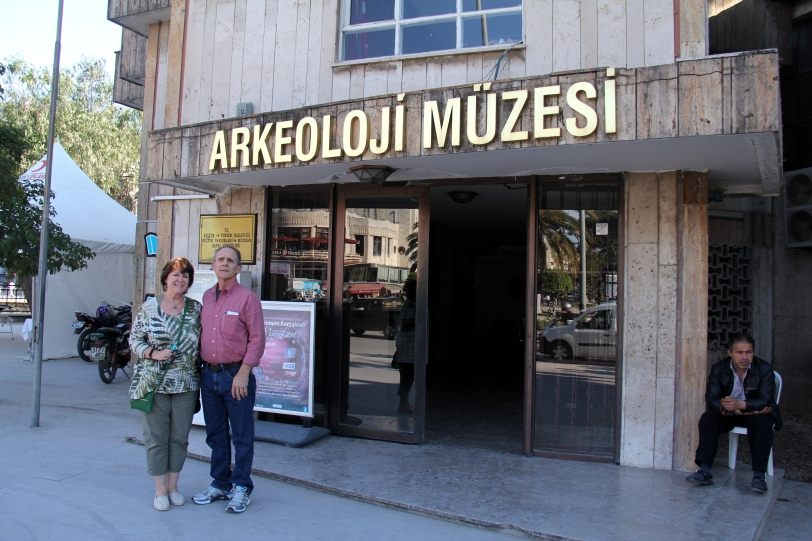 Visiting the Archeology Museum in Antakya