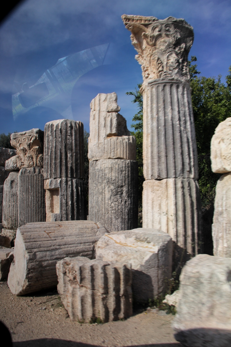 Roman ruins in Mersin