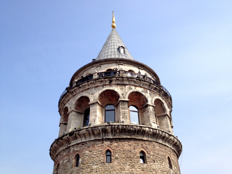 Galata Tower is one of my favorite landmarks