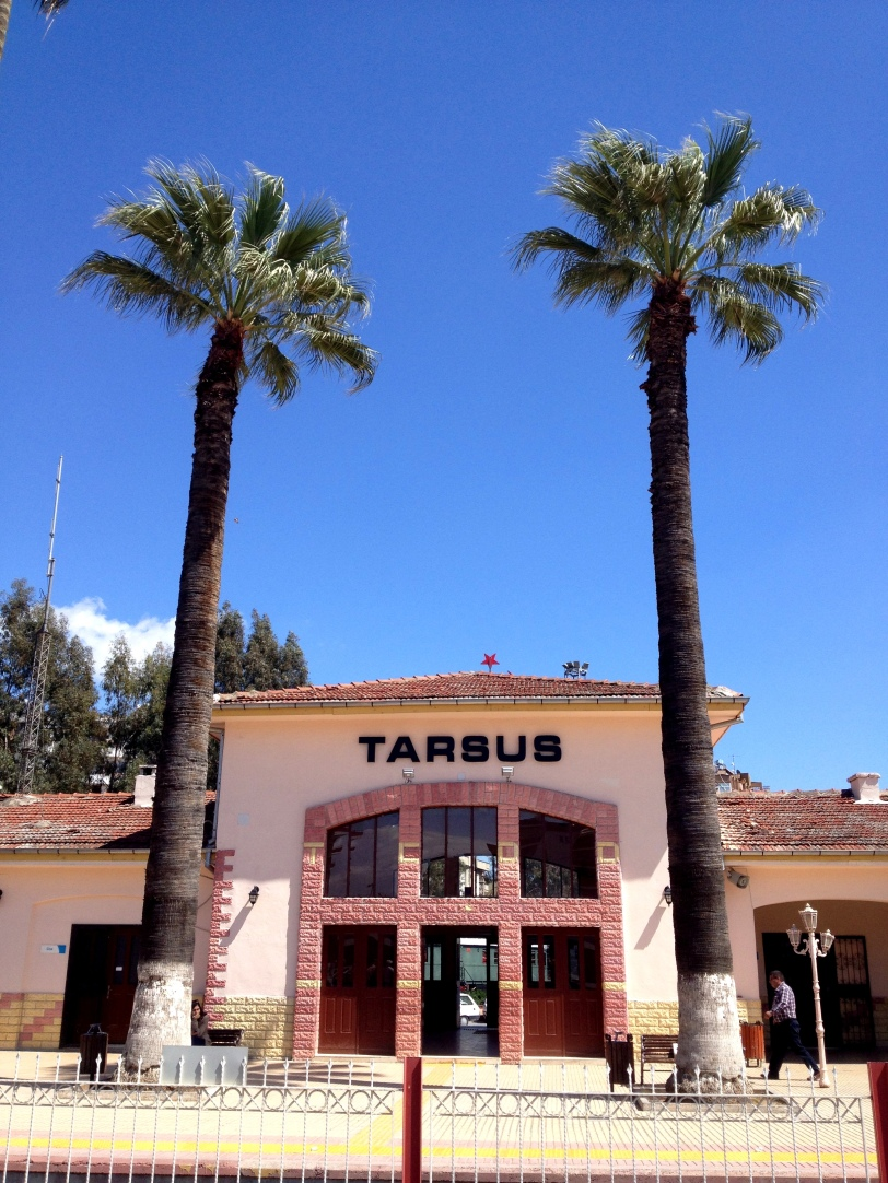 The Tarsus train station
