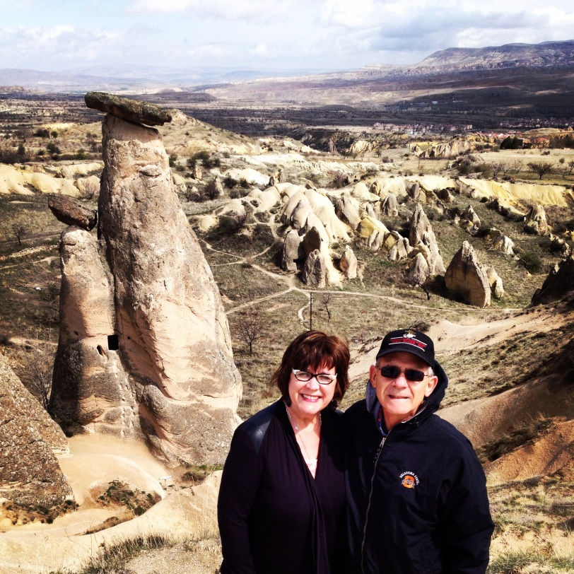 Mom and Dad in Cappadocia