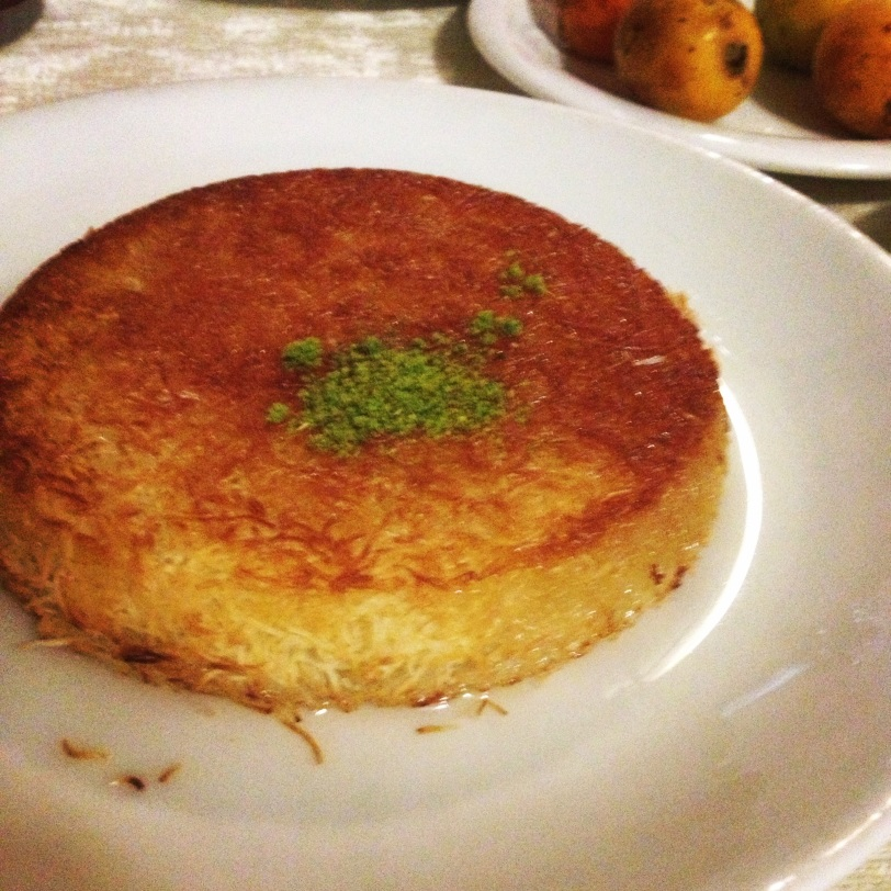 Kunefe, a delicious specialty of Hatay