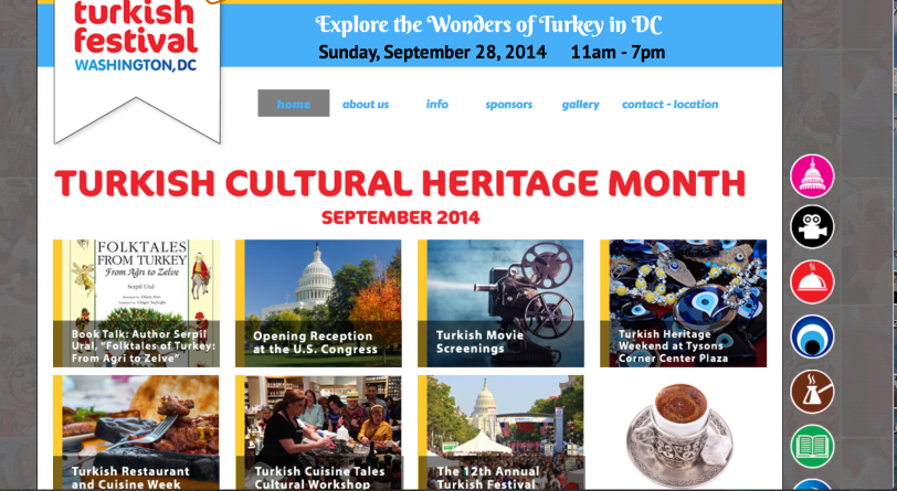 September is Turkish Cultural Heritage Month in Washington, DC