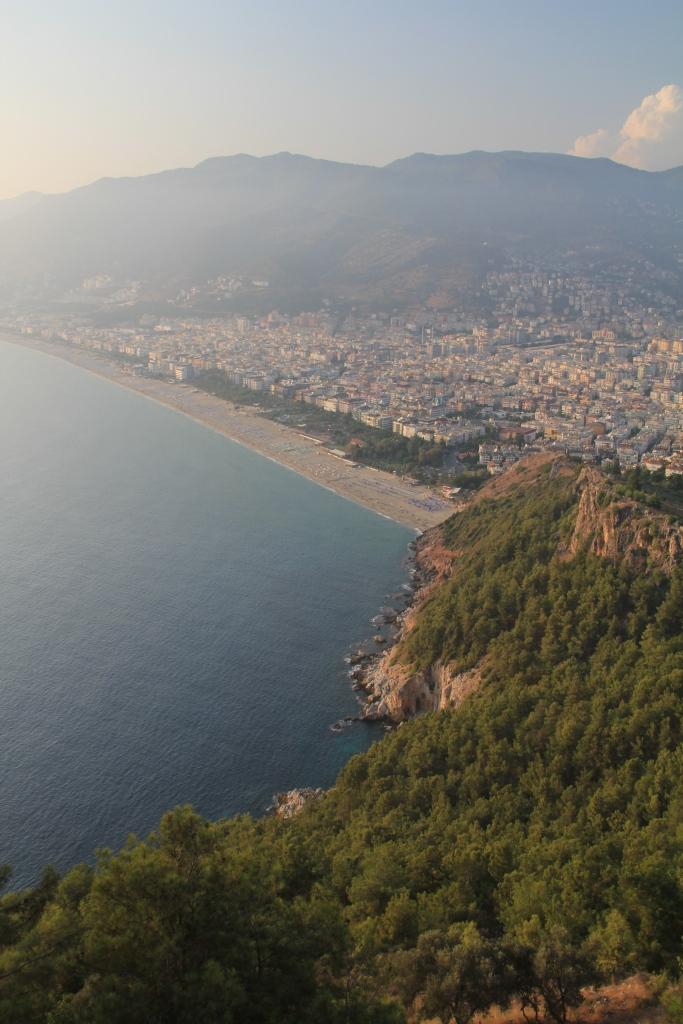 A beautiful coastline