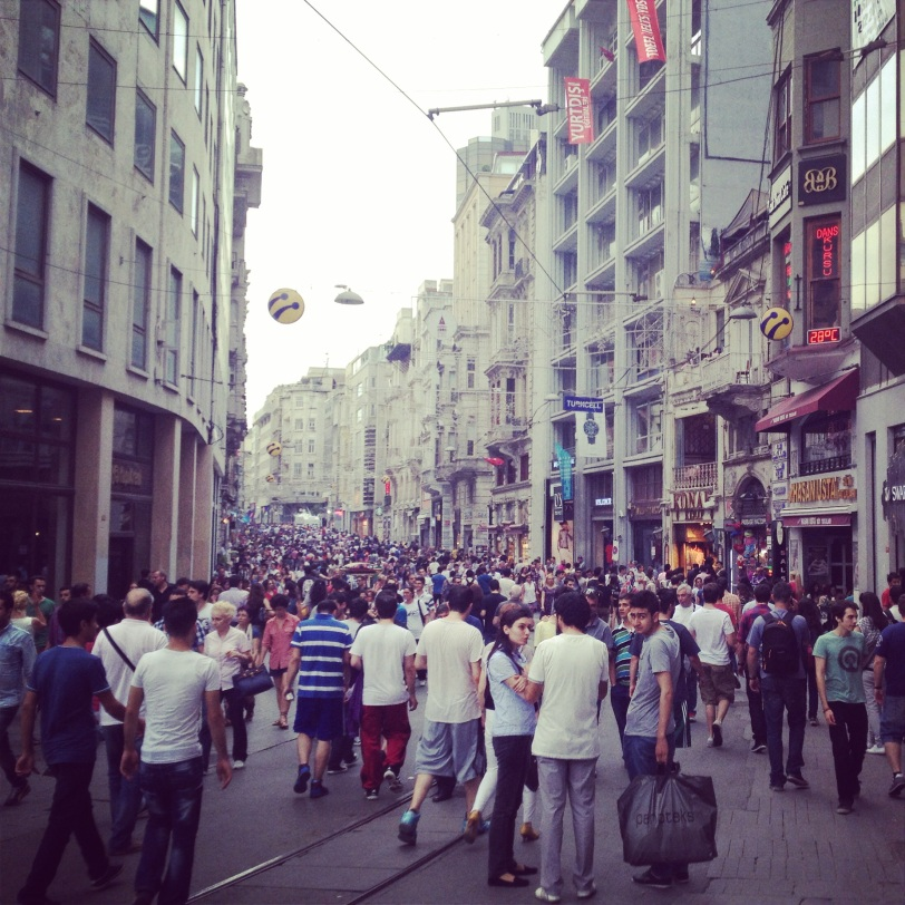Istiklal is always bustling