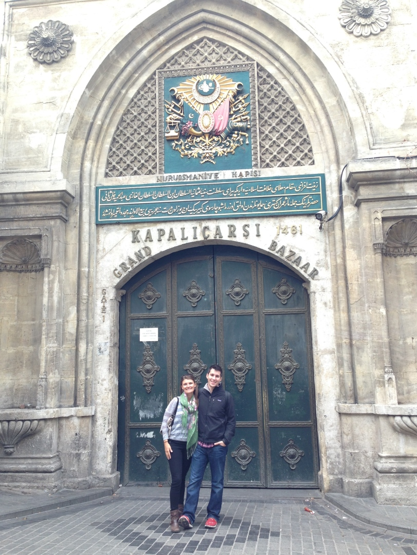 Unfortunately, since it was a holiday, Kapali Carsi (the Grand Bazaar) was kapali (closed)
