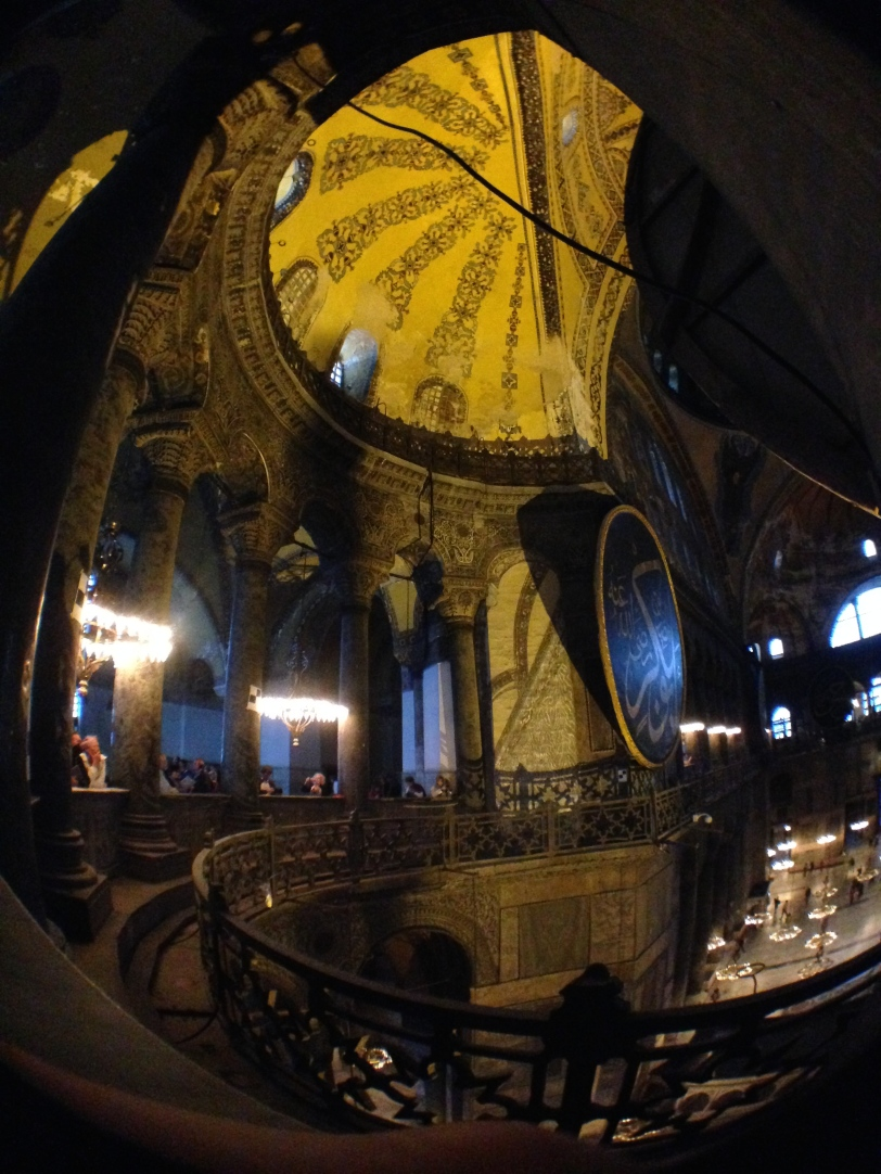 Inside the spectacular Hagia Sophia