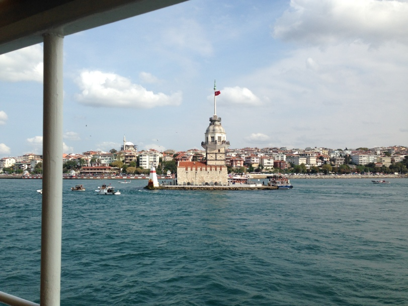 A ferry ride along the Bosphorus is  enjoyable as long as the weather is pleasant, and close-up views of Maiden's Tower are a plus
