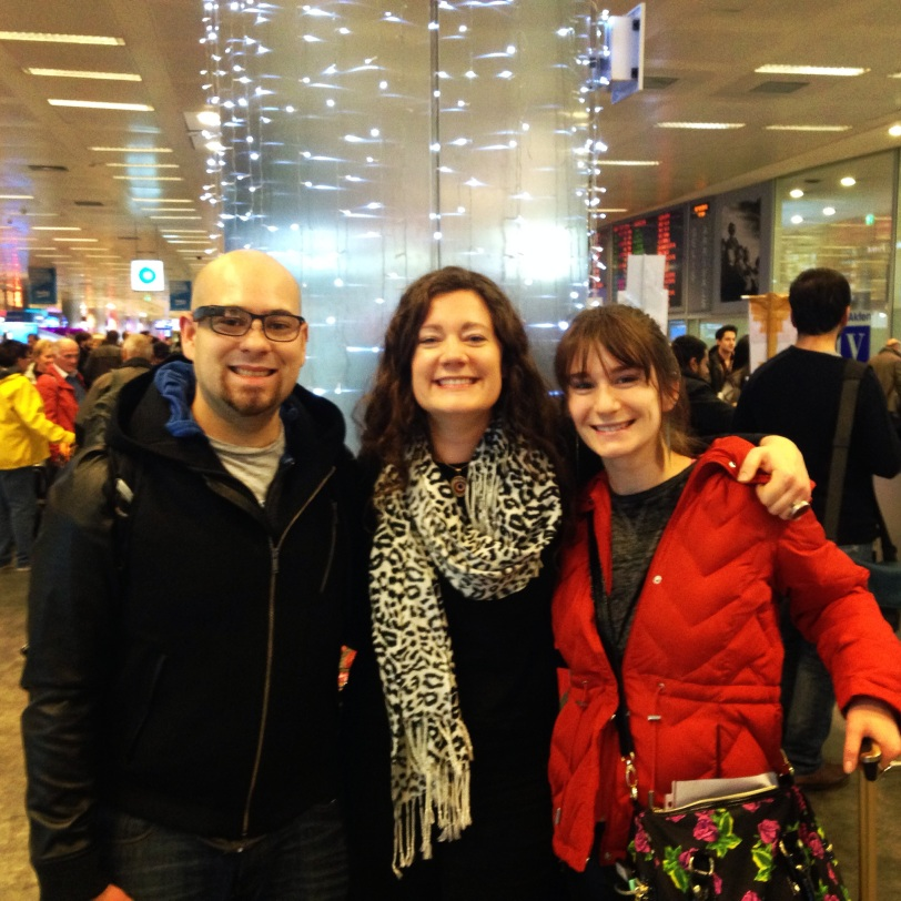 Welcoming my sister and brother-in-law to Istanbul