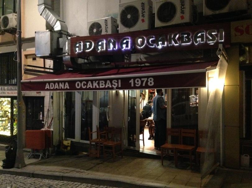 Adana Ocakbaşı in Kurtuluş, Pangaltı, Istanbul