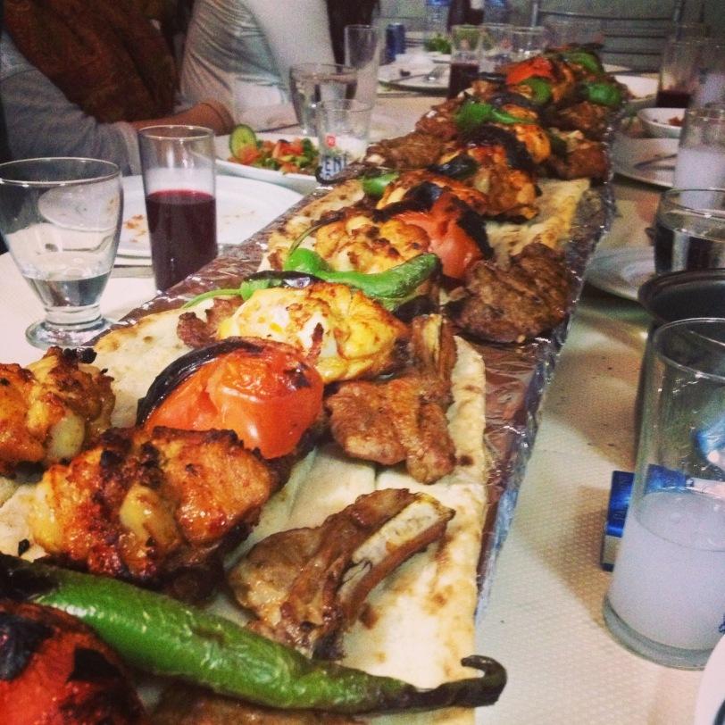Kebab detail