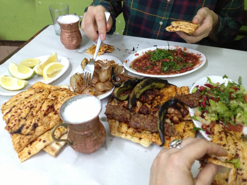 The typical style at Yesil Kapi is to get messy